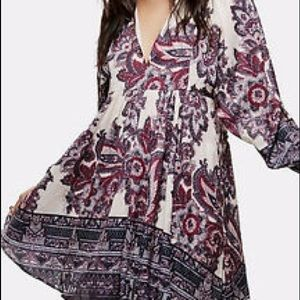 Free People Say You Love Me Mini baby doll dress